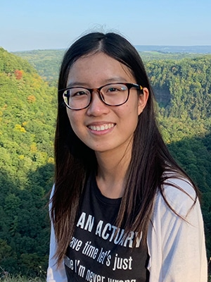 Lynne Xu, University of Rochester, Actuarial Science