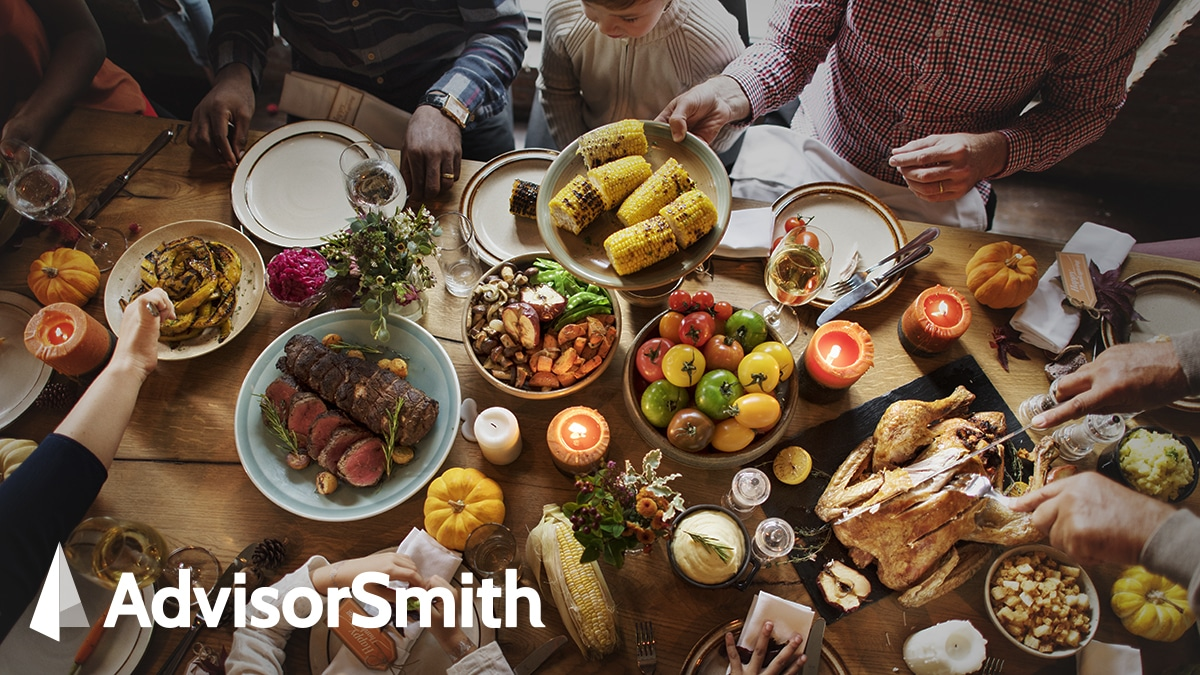 Thanksgiving Dinner Costs up 9.8% in 2020 – AdvisorSmith